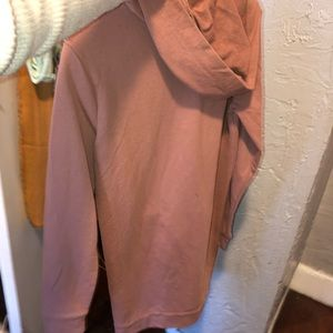 Forever 21 Dresses - F21 dusty rose oversized hoodie